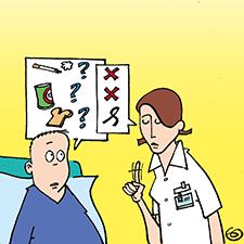 Verbinden met een patiënt in de palliatieve fase